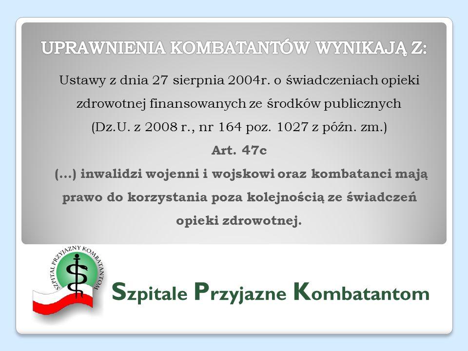 Ustawy z dnia 27 sierpnia 2004r.