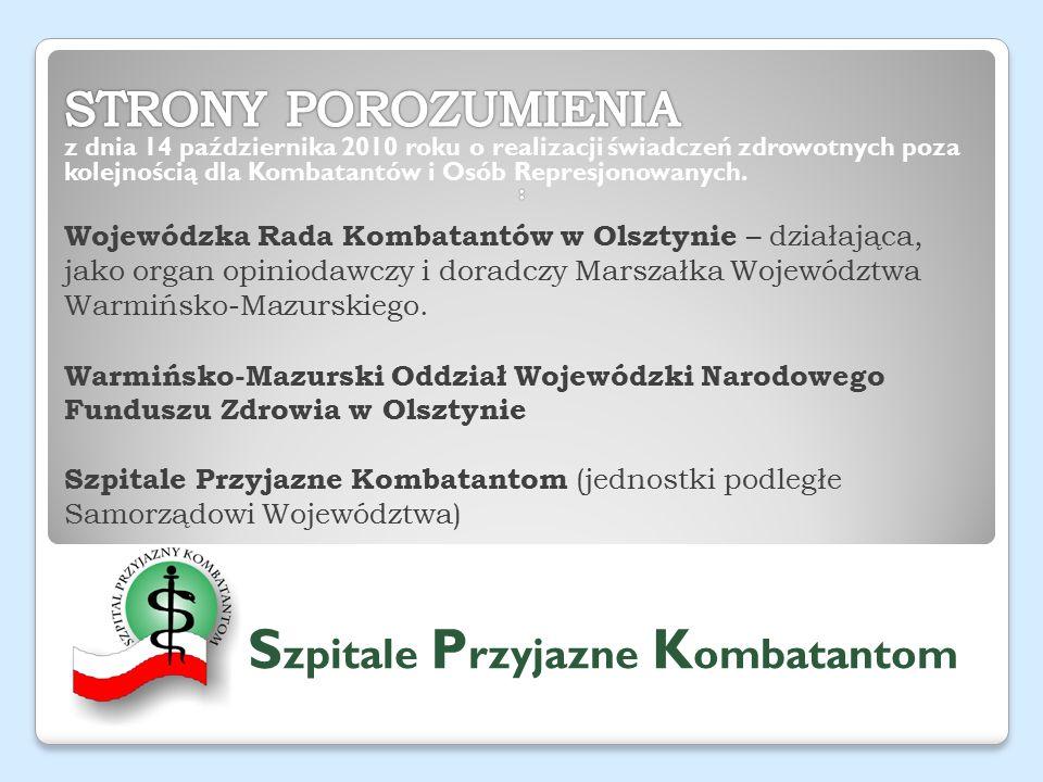 Wojewódzka Rada Kombatantów w Olsztynie – działająca, jako organ opiniodawczy i doradczy Marszałka Województwa Warmińsko-Mazurskiego.