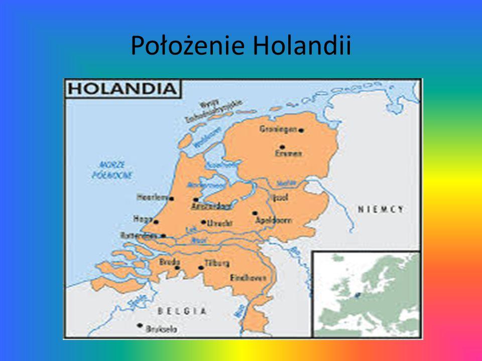 Położenie Holandii