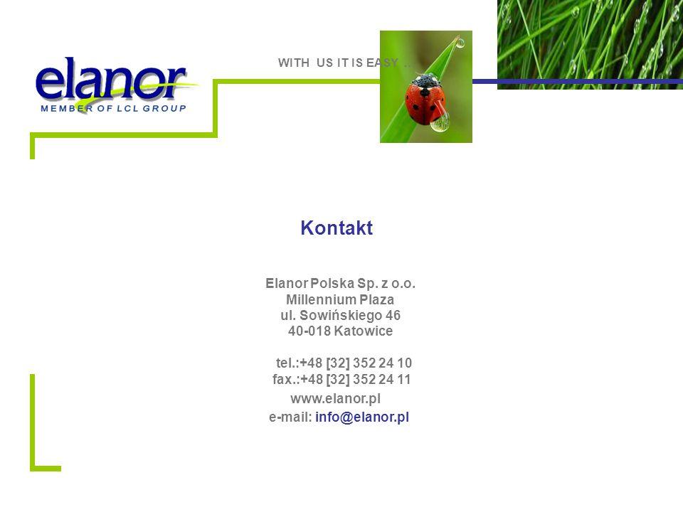 Kontakt Elanor Polska Sp. z o.o. Millennium Plaza ul.