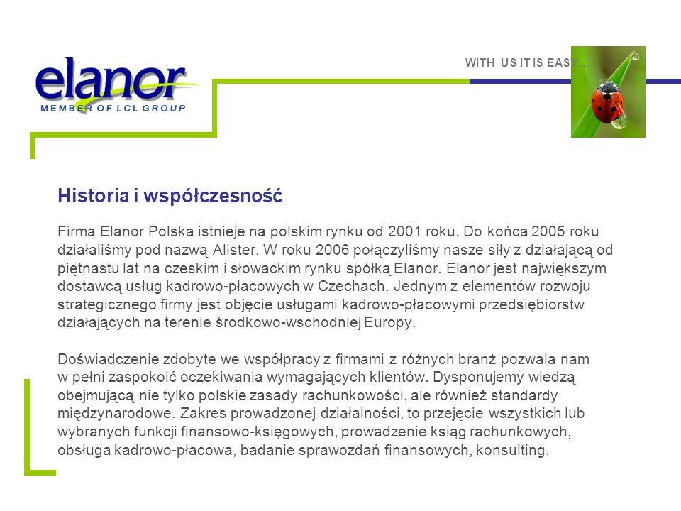 Firma Elanor Polska istnieje na polskim rynku od 2001 roku.