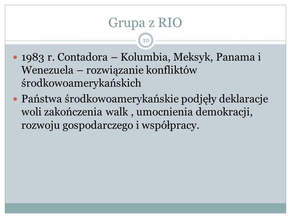 Grupa z RIO 10 1983 r.