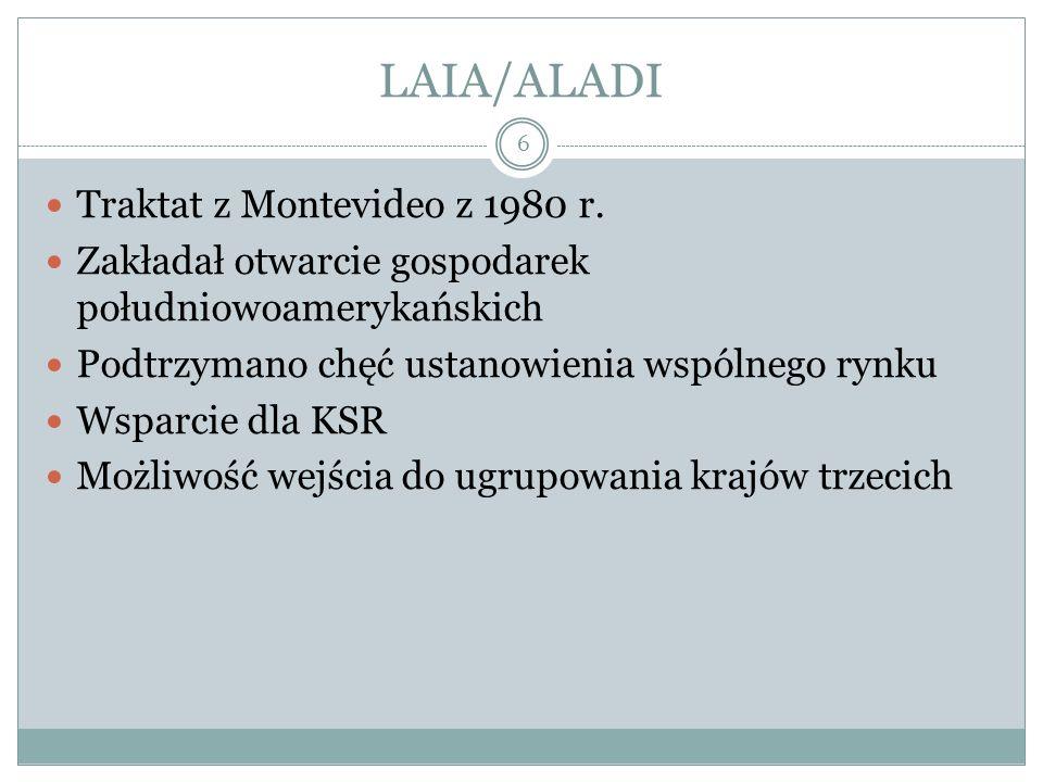 LAIA/ALADI 6 Traktat z Montevideo z 1980 r.