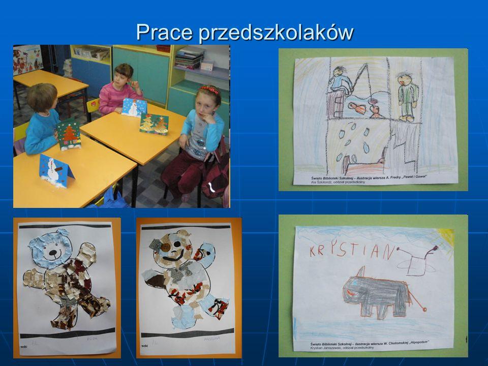 Prace przedszkolaków