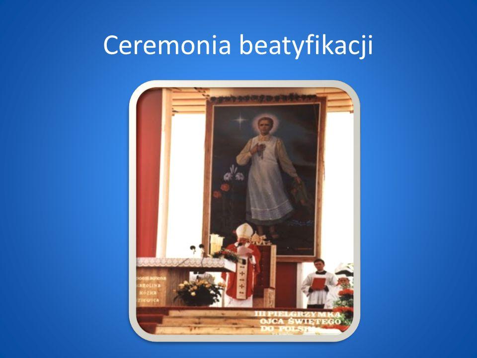 Ceremonia beatyfikacji