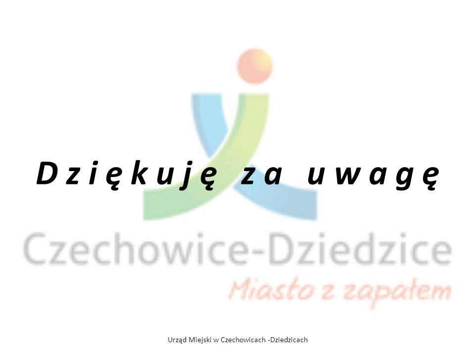 D z i ę k u j ę z a u w a g ę Urząd Miejski w Czechowicach -Dziedzicach