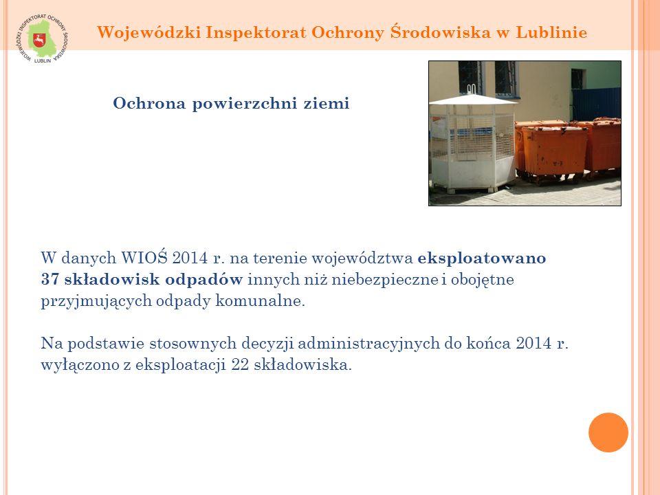 W danych WIOŚ 2014 r.