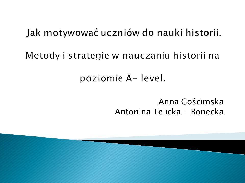 Anna Gościmska Antonina Telicka - Bonecka