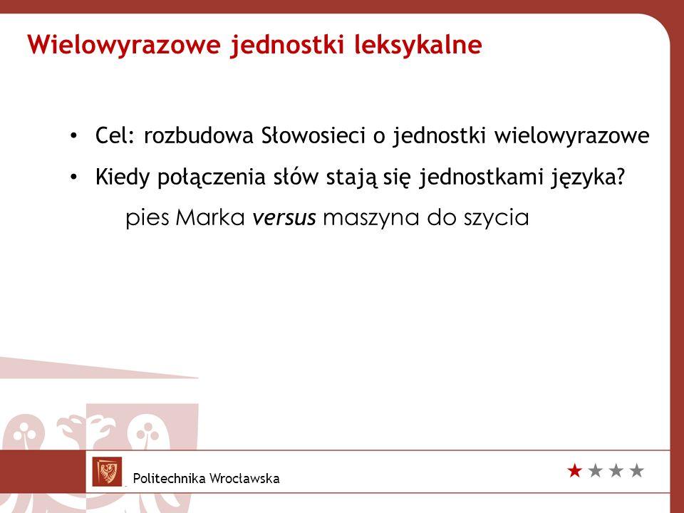  Omijamy najmniej pewne przypadki Sum of decisions suma decyzji Histogram sum częstość Definicja intuicyjna Politechnika Wrocławska 