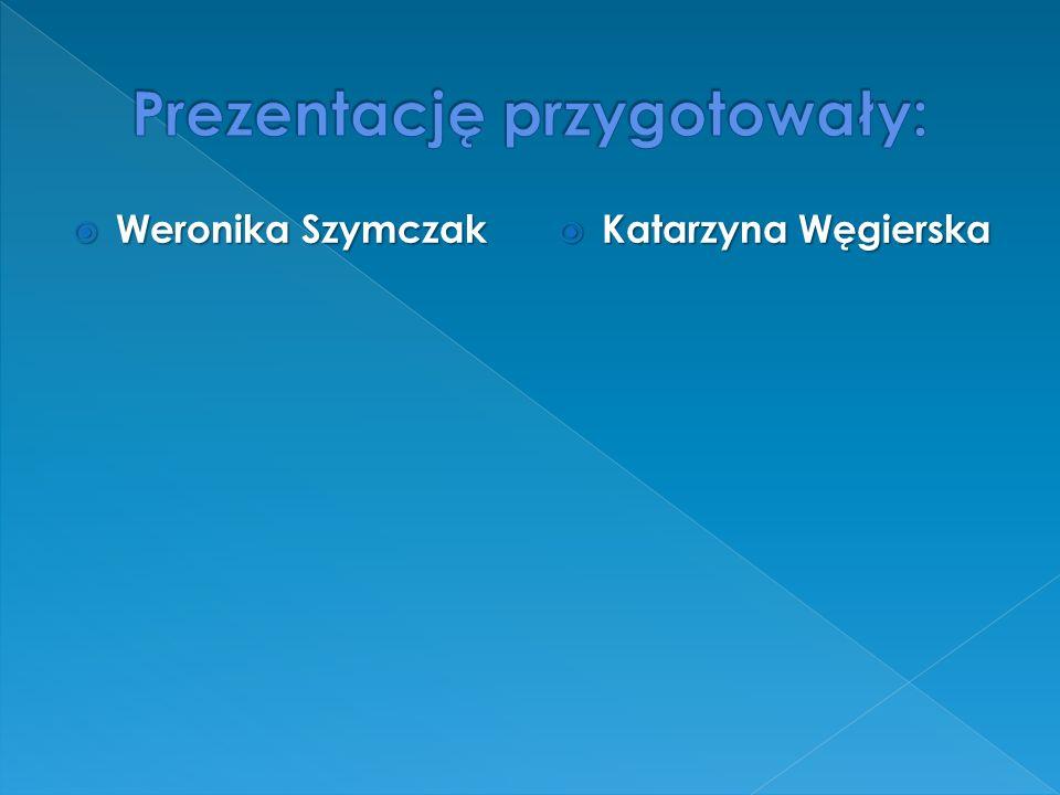  Weronika Szymczak  Katarzyna Węgierska