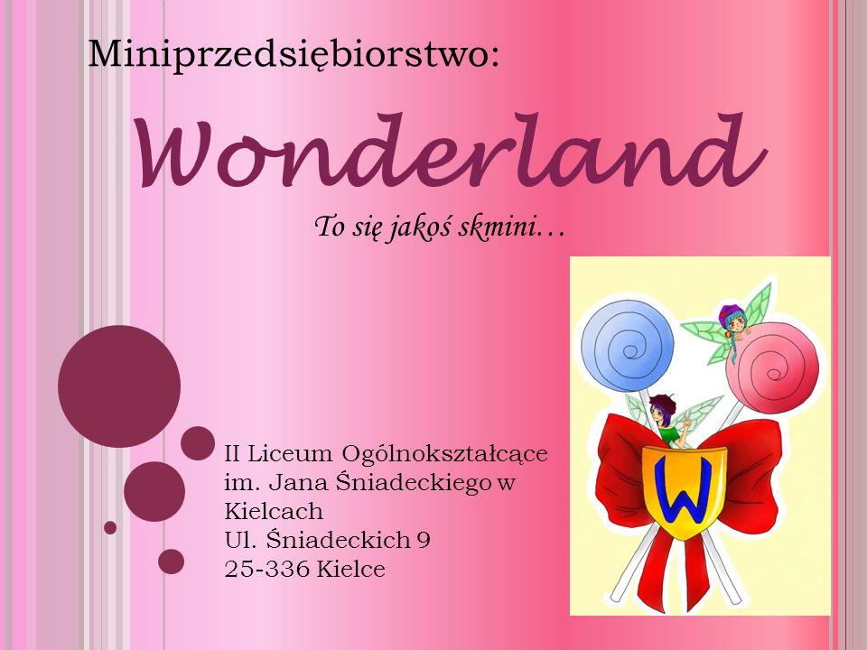Wonderland Miniprzedsiębiorstwo: II Liceum Ogólnokształcące im.