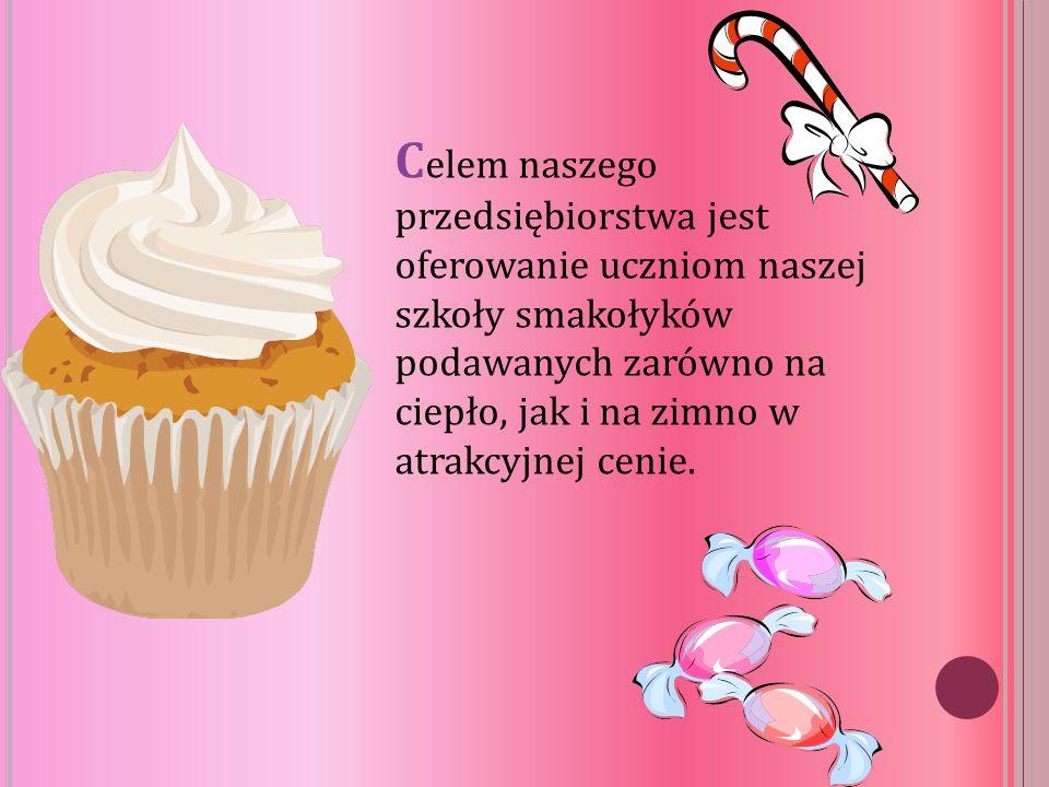 Wonderland oferuje:  pyszne, domowe ciasta  różnorodne desery, np.