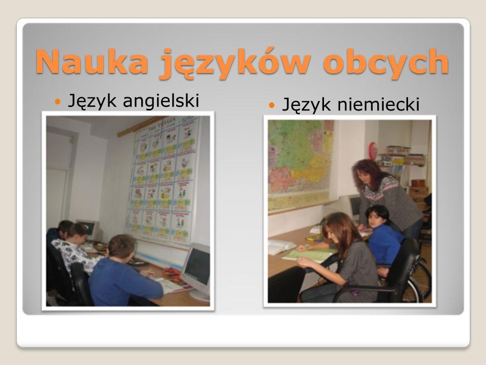 Nauka języków obcych Język angielski Język niemiecki