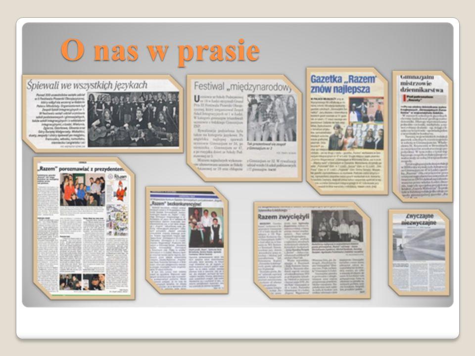 O nas w prasie