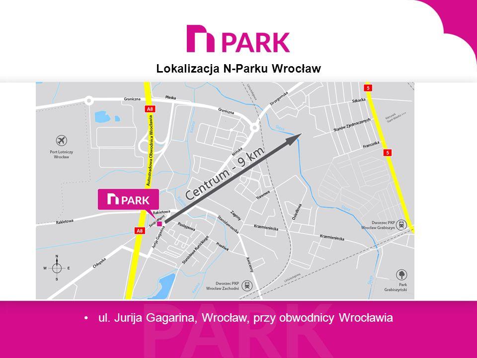 Lokalizacja N-Parku Wrocław ul.