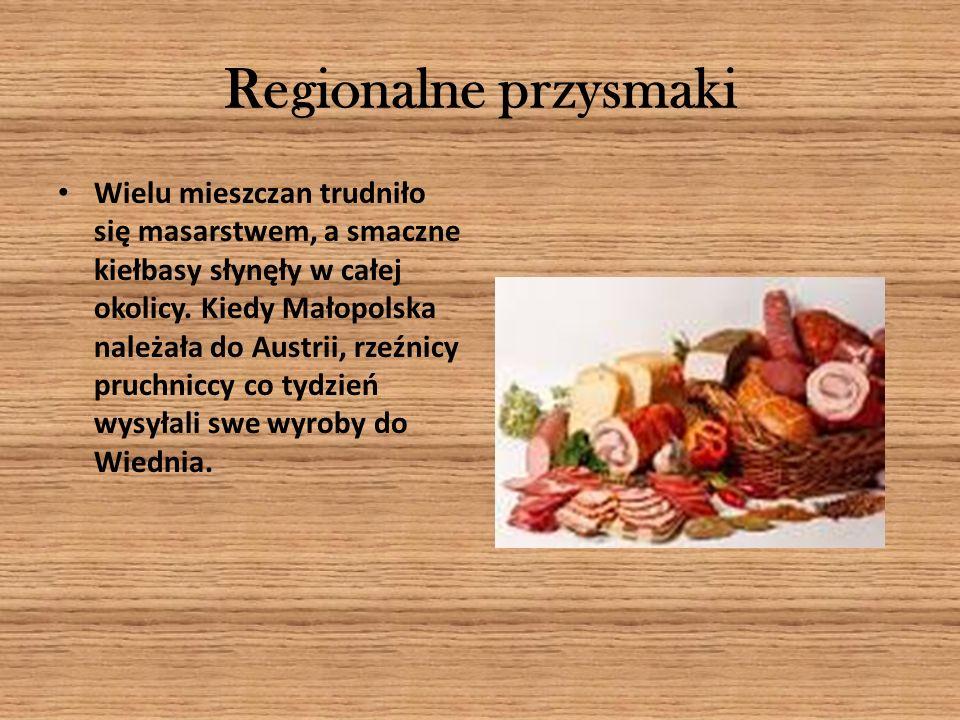 Regionalne rzemios ł o Pruchnik słynął z przemysłu garbarskiego i wyrobu obuwia.