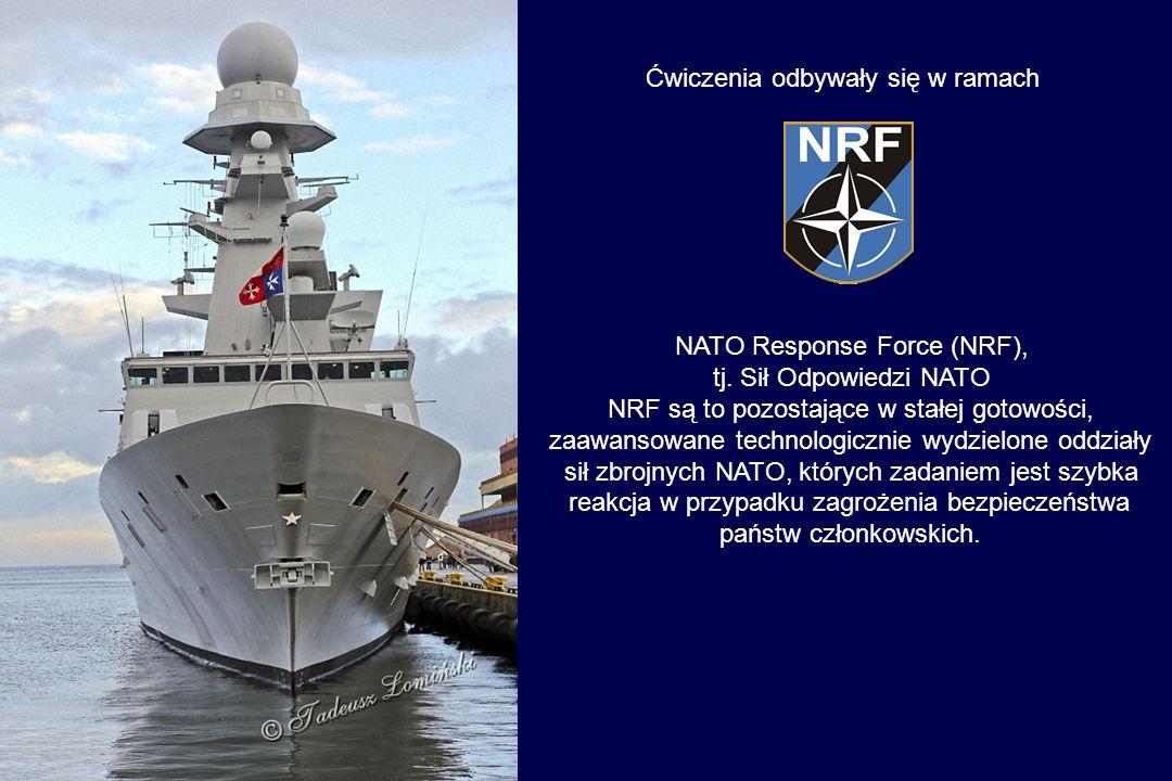 Od 2 do 09 listopada 2013 okręt brał udział w ćwiczeniach NATO
