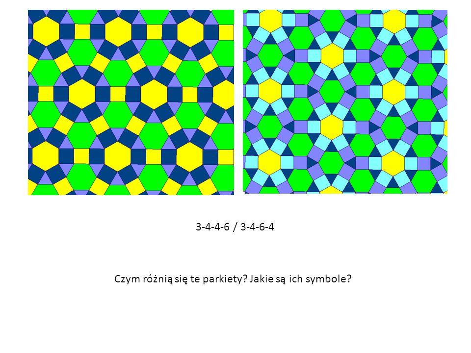 3-4-4-6 / 3-4-6-4 Czym różnią się te parkiety? Jakie są ich symbole?