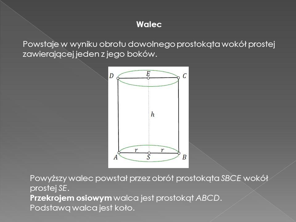 Bryła obrotowa - to bryła geometryczna ograniczona powierzchnią powstałą w wyniku obrotu figury płaskiej dookoła prostej (nazywanej osią obrotu ).