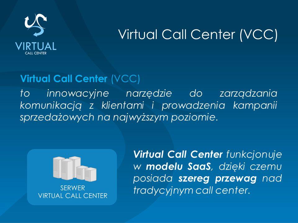 Virtual Call Center (VCC) to innowacyjne narzędzie do zarządzania komunikacją z klientami i prowadzenia kampanii sprzedażowych na najwyższym poziomie.
