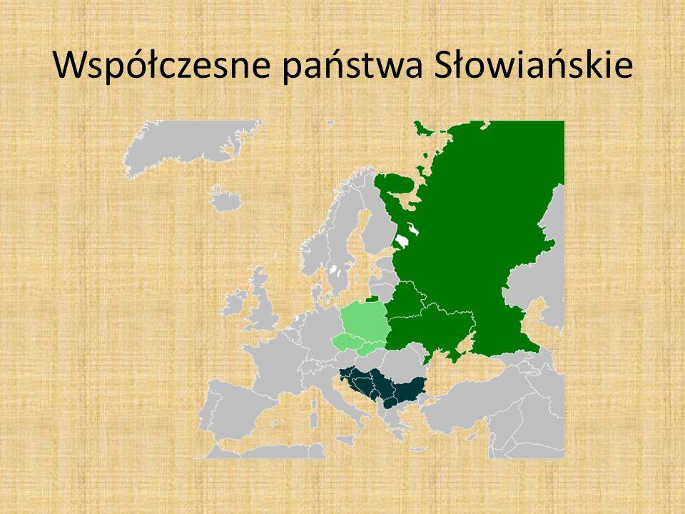 Współczesne państwa Słowiańskie