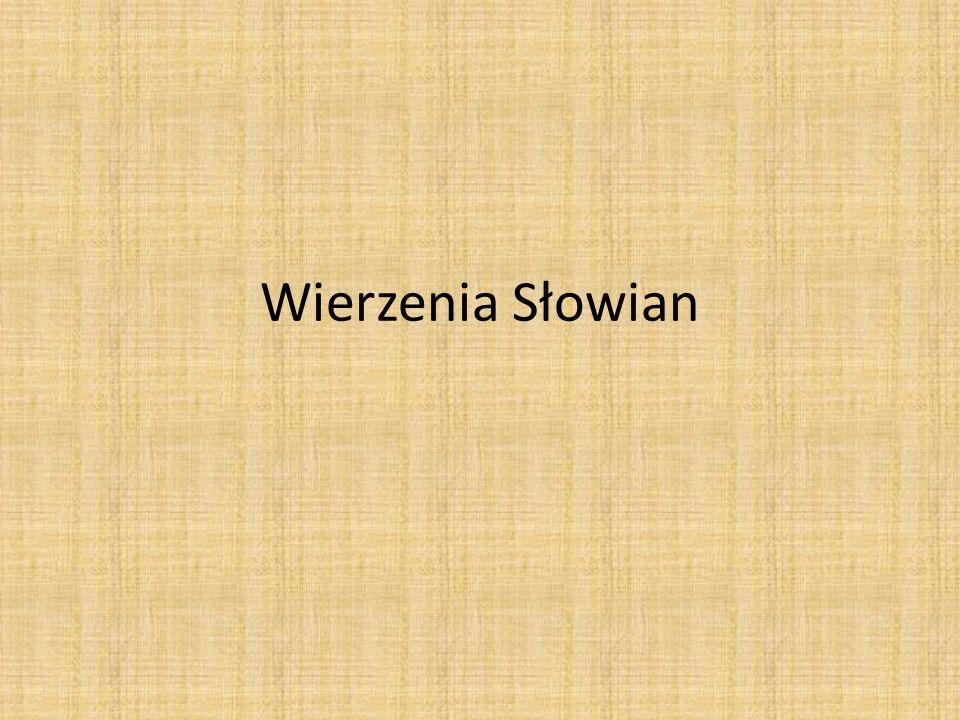 Wierzenia Słowian