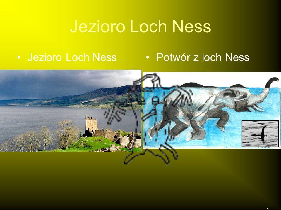 Jezioro Loch Ness Potwór z loch Ness