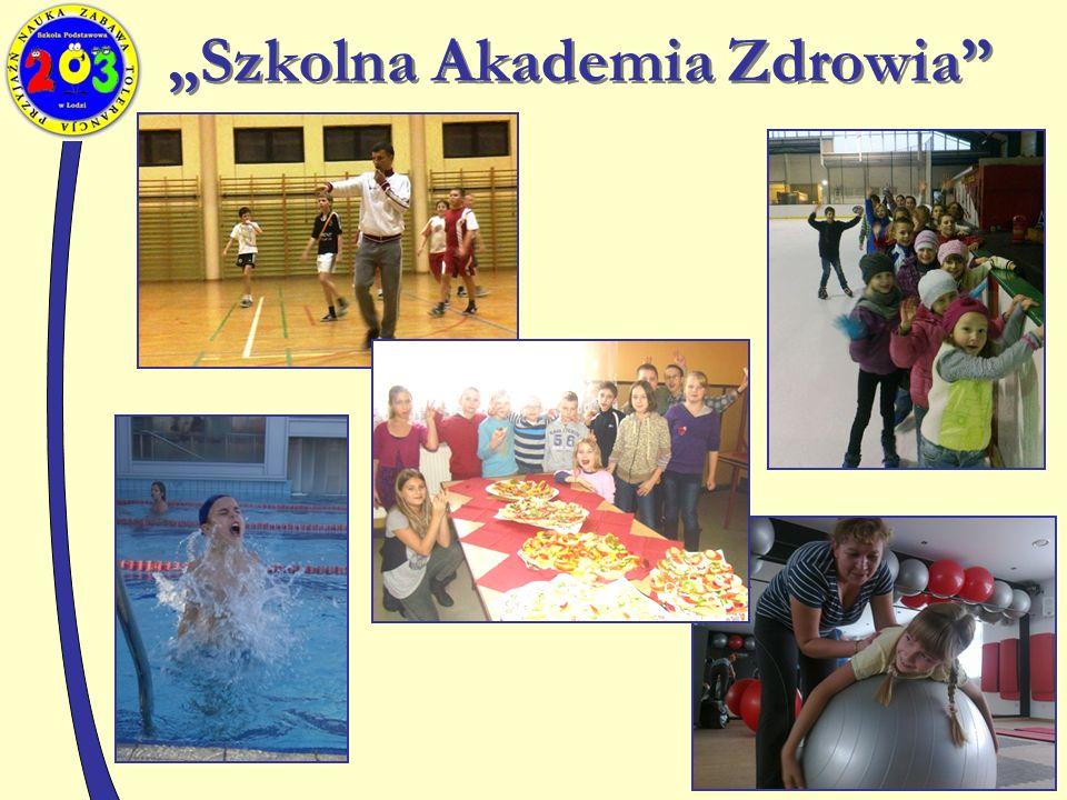 """""""Szkolna Akademia Zdrowia"""
