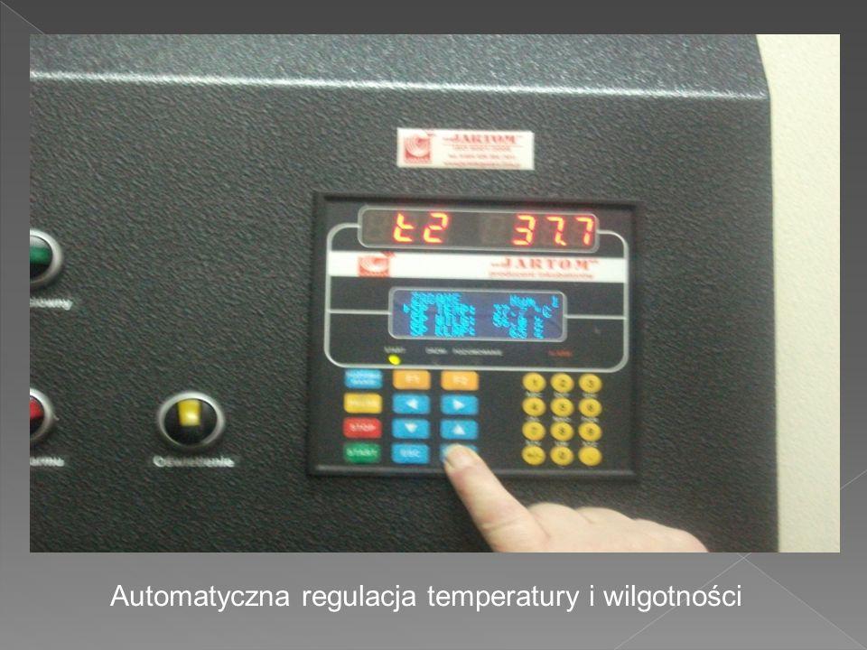 Automatyczna regulacja temperatury i wilgotności