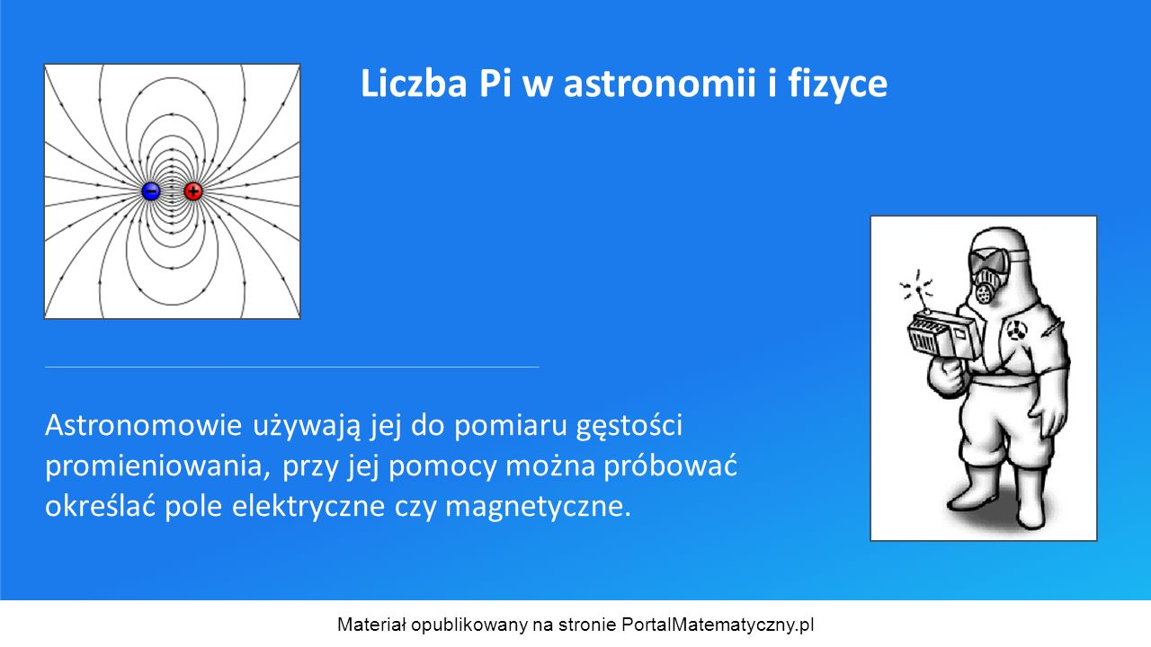 Jeśli chcesz posłuchać liczby π, wiedząc, że każdej liczbie odpowiada pewna wysokość (częstotliwość) dźwięku, to melodii wygrywanej przez kolejne cyfry rozwinięcia π możesz posłuchać na stronie: http://www.geocities.com/Vienna/9349/index.html Materiał opublikowany na stronie PortalMatematyczny.pl Liczba PI w muzyce