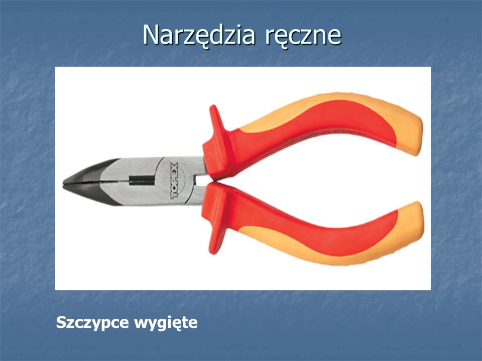 Narzędzia ręczne Szczypce uniwersalne do zaciskania końcówek