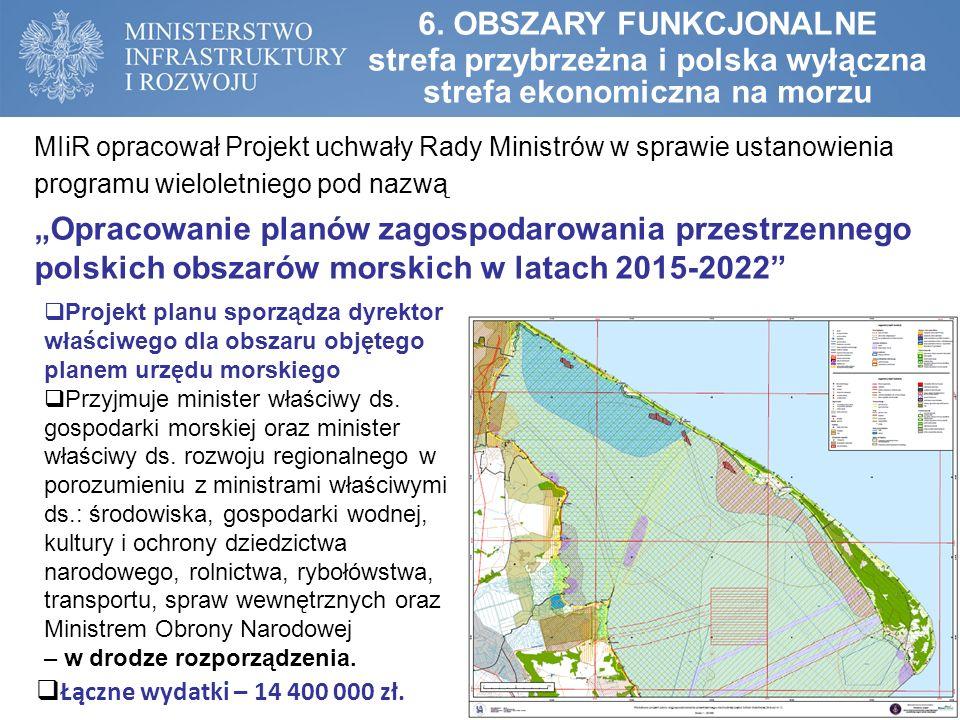  Projekt planu sporządza dyrektor właściwego dla obszaru objętego planem urzędu morskiego  Przyjmuje minister właściwy ds.