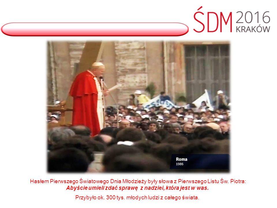 W Madrycie w Hiszpanii młodzi zastanawiali się nad cytatem: Zakorzenieni i zbudowani na Chrystusie, mocni w wierze (por.
