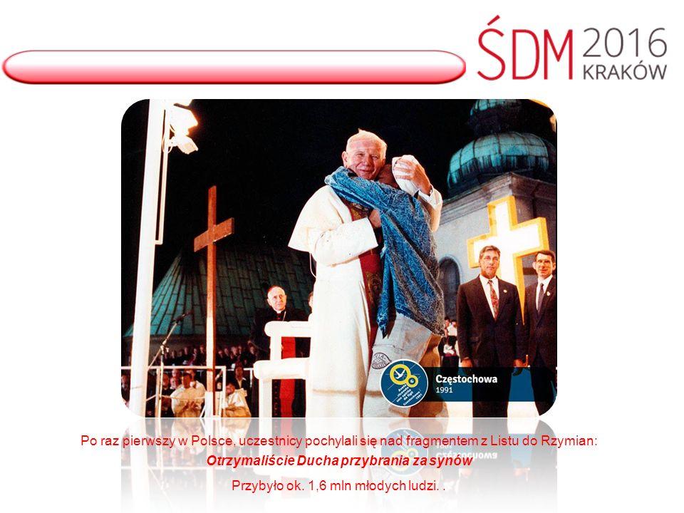 Hasłem Światowych Dni Młodzieży w USA były słowa Chrystusa z Ewangelli wg św.