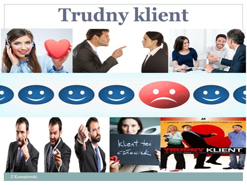 Praca urzędnika Z.Korzeniewski Przebieg pracy zależy w dużym stopniu od relacji z klientami.