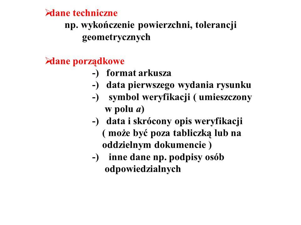  dane techniczne np.