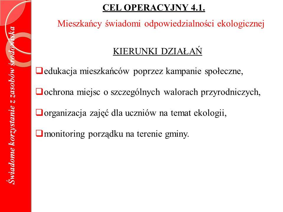 CEL OPERACYJNY 4.1.