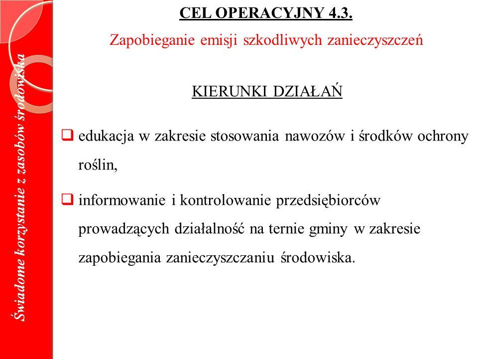 CEL OPERACYJNY 4.3.
