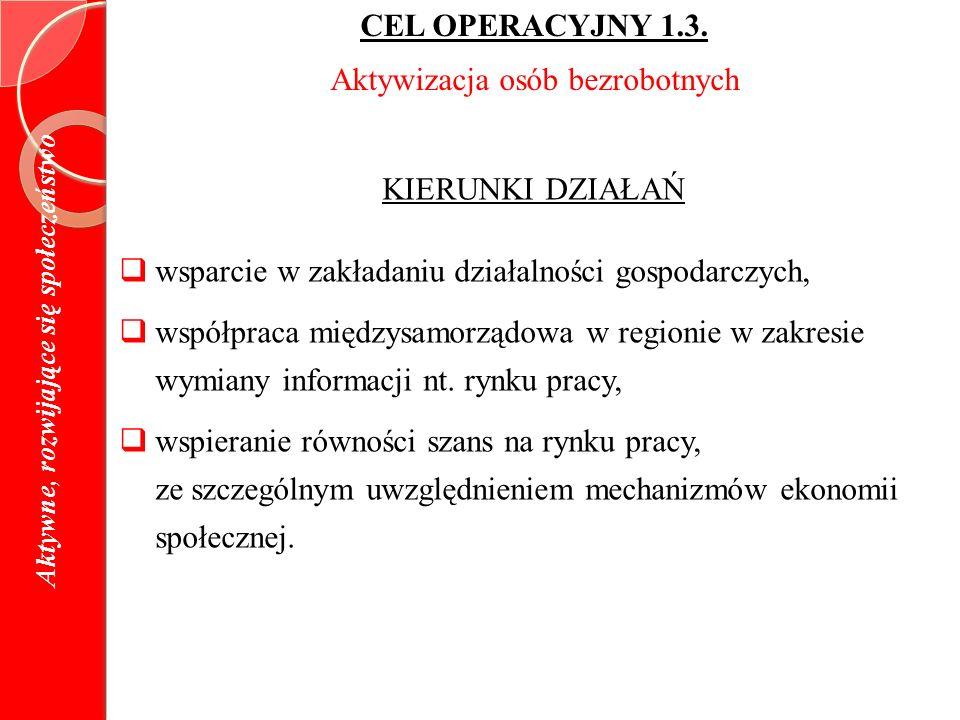 CEL OPERACYJNY 1.3.