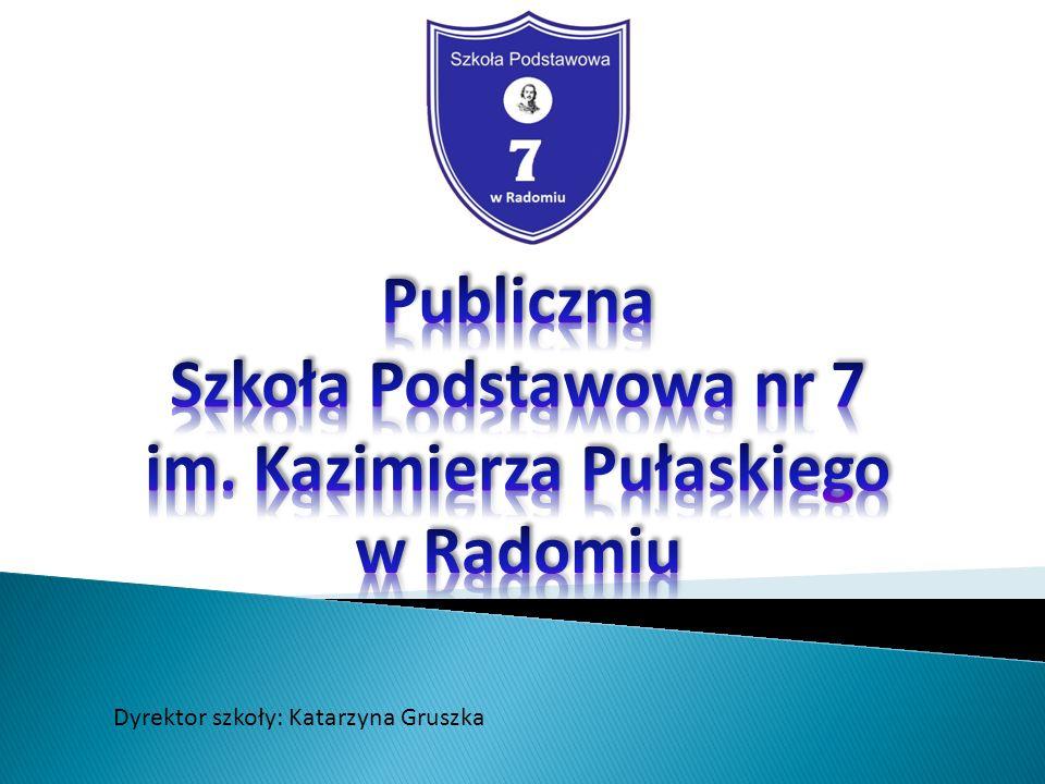 Dyrektor szkoły: Katarzyna Gruszka