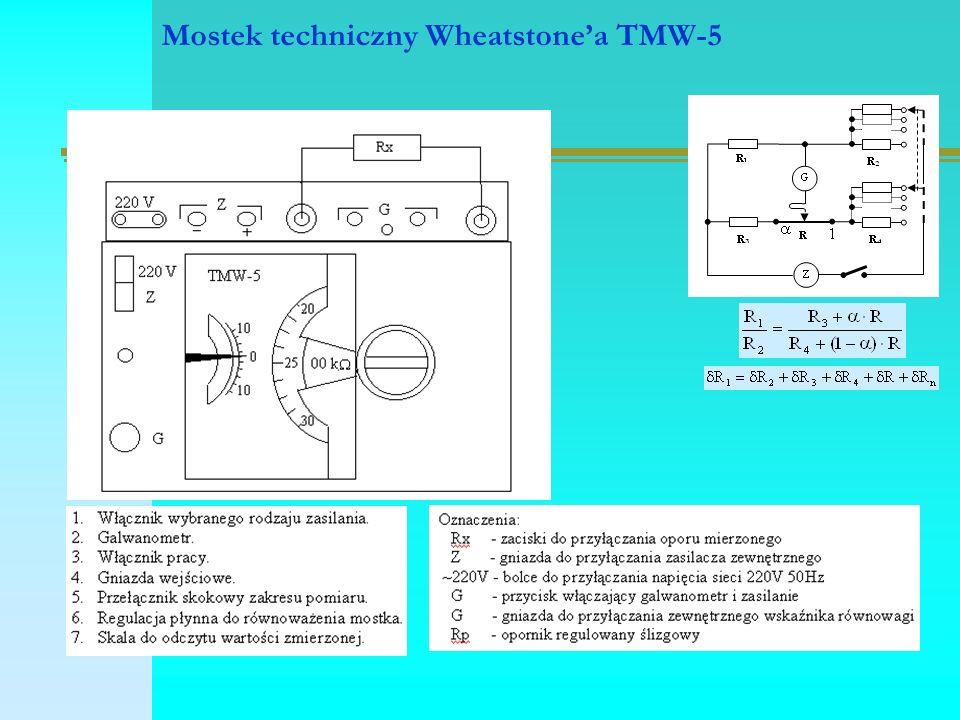 Mostek techniczny Wheatstone'a TMW-5