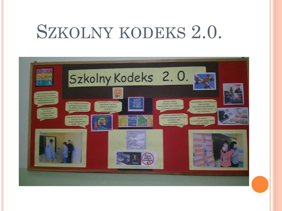 """W ramach programu """"Szkoła z klasą realizowaliśmy następujące projekty: 1."""