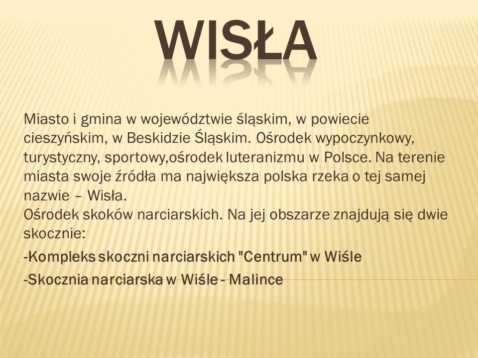 Miasto i gmina w województwie śląskim, w powiecie cieszyńskim, w Beskidzie Śląskim.