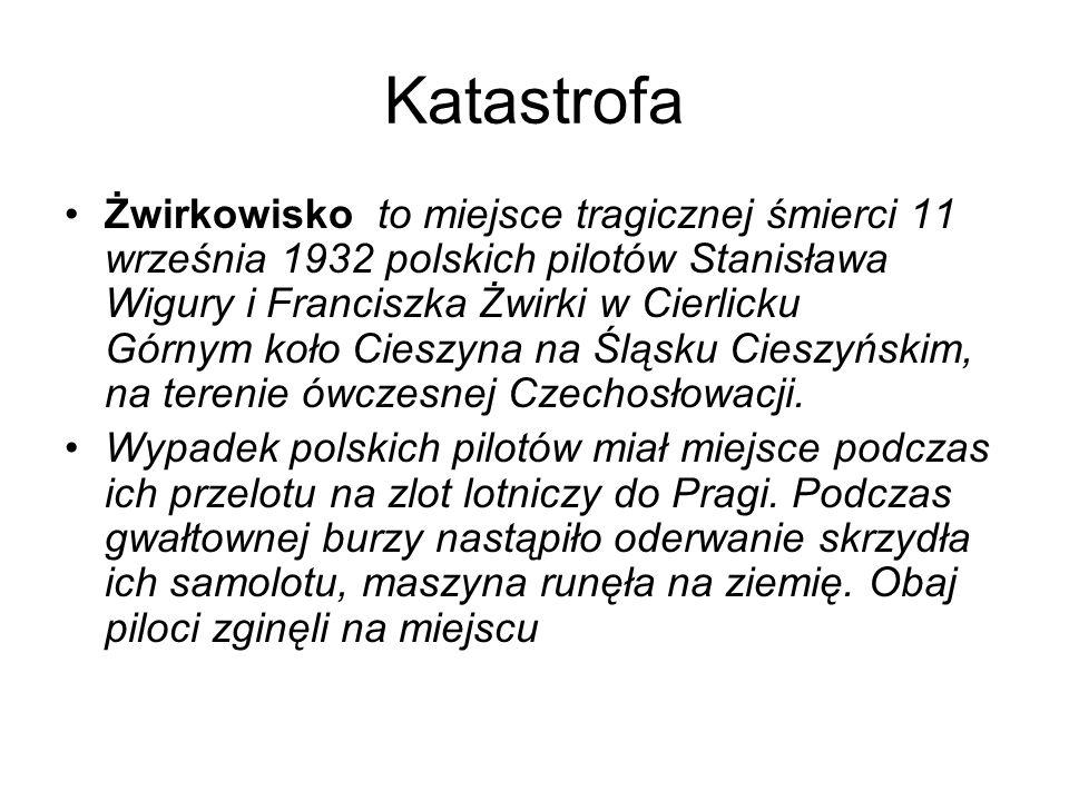 Katastrofa Żwirkowisko to miejsce tragicznej śmierci 11 września 1932 polskich pilotów Stanisława Wigury i Franciszka Żwirki w Cierlicku Górnym koło Cieszyna na Śląsku Cieszyńskim, na terenie ówczesnej Czechosłowacji.