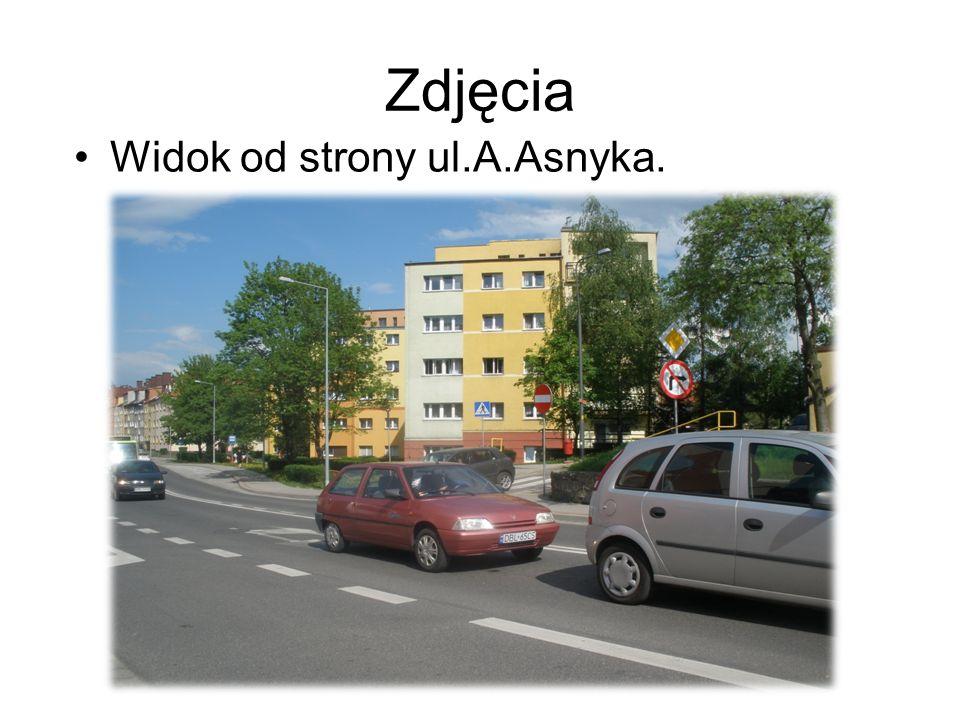 Zdjęcia Widok od strony ul.A.Asnyka.