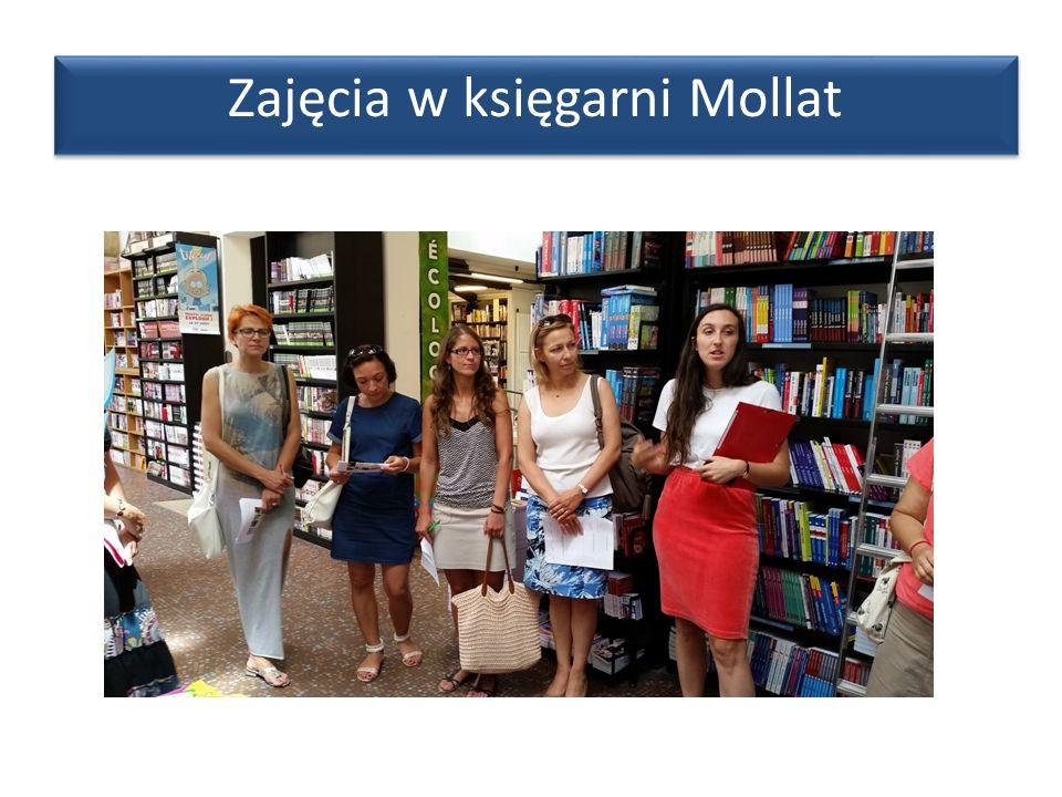 Zajęcia w księgarni Mollat