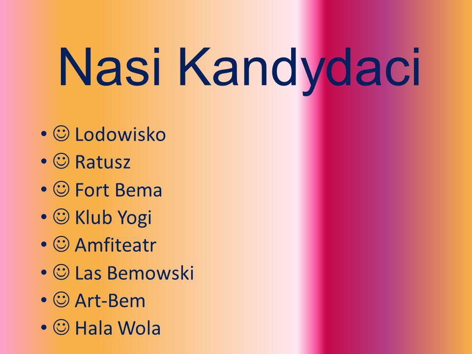 Nasi Kandydaci Lodowisko Ratusz Fort Bema Klub Yogi Amfiteatr Las Bemowski Art-Bem Hala Wola