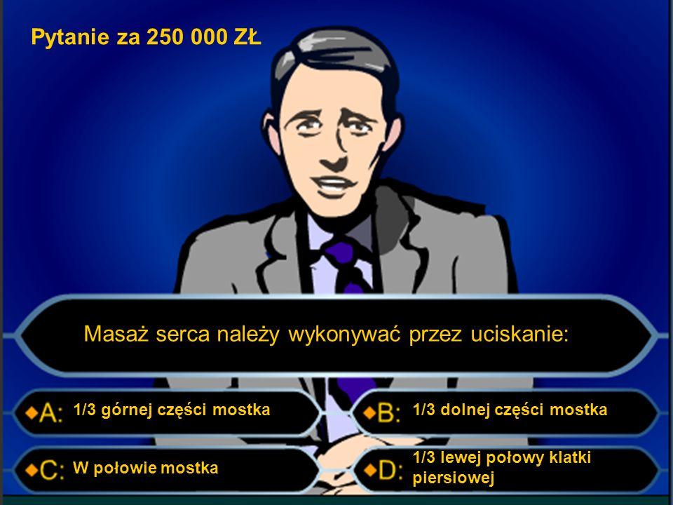 Pytanie za 125 000 zł Który z zaprezentowanych klinów siekiery jest prawidłowy?: CB AWszystkie