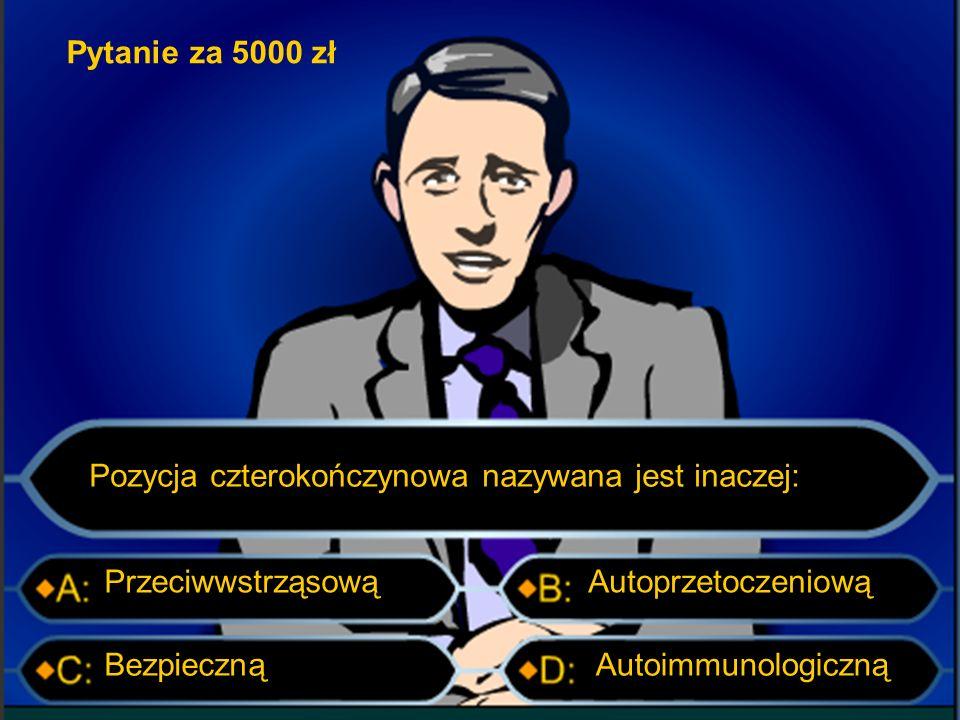 """Pytanie za 2000 zł Litera """"Y w alfabecie Morse'a to: _. _ _. _.. _ _. _ _.. _"""