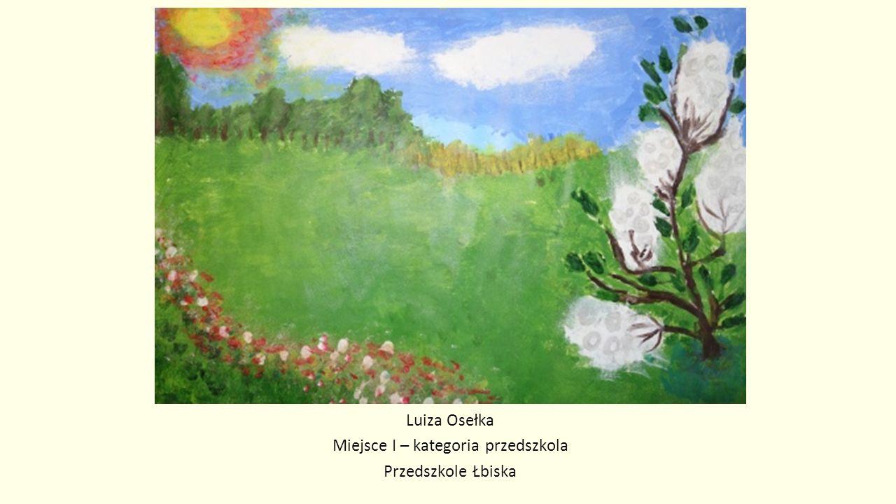 Magdalena Mich Miejsce I – kategoria klasy IV-VI SP Głosków